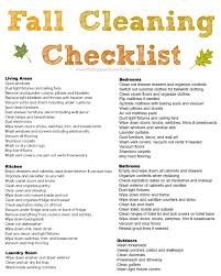 free fall cleaning checklist and a my new lean mean cleaning