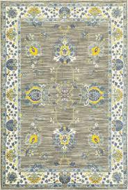 yellow and gray at rug studio