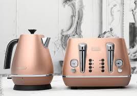 Designer Kitchen Appliances Delonghi Distinta Copper Kitchen Appliances Are Amazing Hobbs