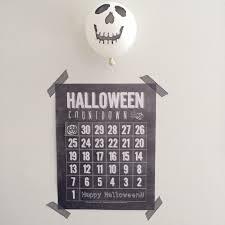 countdown to halloween calendar halloween archives pop roc parties party blog
