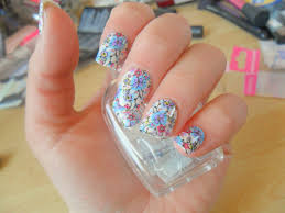 impress nails back of the nail and press onto your nail simple