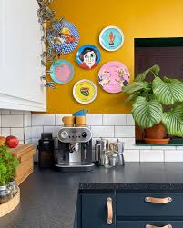 blue kitchen cabinets and yellow walls 34 stylish yellow kitchen ideas designs pictures