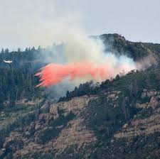 National Wildfire Activity by Wildfire Burns At Mesa Verde National Park