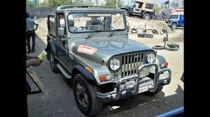 mahindra thar crde 4x4 ac modified mahindra thar price engine performance suspension interior