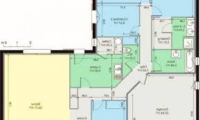 plan plain pied 5 chambres déco plan maison telecharger 99 le havre plan maison