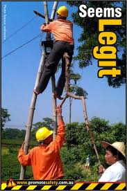 Health And Safety Meme - work at height health and safety humour funny workplace safety