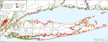 Map Of Middlesex County Nj Sea Level Rise Planning Maps Likelihood Of Shore Protection In