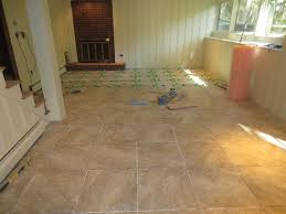 ideas impressive basement tile flooring options diy faux painted