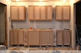 Dressing Up Kitchen Cabinets Wall Of Cabinets Installed Plus How To Install Upper Cabinets By