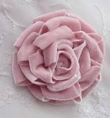 pink velvet ribbon dusty pink velvet ribbon fabric sequin beaded flower