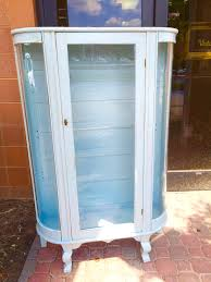 curio cabinet painted curio cabinet formidable picture concept