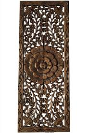 asian wood wall panels carved wall decor unique home