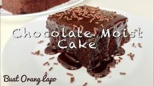 easy moist chocolate cake recipe resepi kek coklat moist mudah
