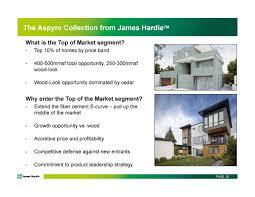 james hardie jhx investor presentation slideshow james