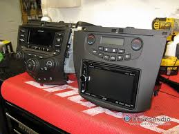 2004 honda accord double din with big metra kit certified