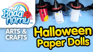 badanamu arts u0026 crafts ep7 halloween paper dolls youtube