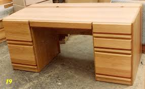 Solid Oak Office Desk Filthy To Flawless Home Office Desk Build Finished For Now Idolza