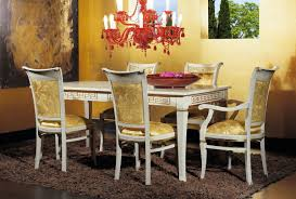 luxury classic chairs art 3047 table extensible table