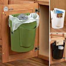 Kitchen Trash Can Ideas Bagsavr Trash Can Reuses Your Grocery Bags