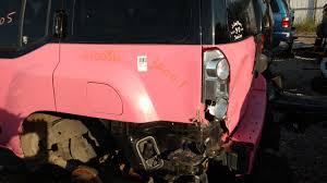 nissan frontier junkyard parts pink xterra junkyard find second generation nissan xterra forums