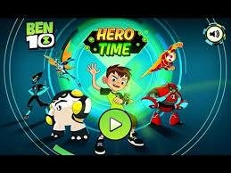 ben 10 hero chapter 1 3 cartoon network games