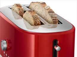 Red Toasters For Sale Kitchenaid 4 Slice Long Slot Toaster With High Lift Lever Bed
