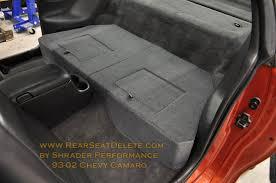 chevrolet camaro back seat rear seat delete kits design sale ls1tech camaro and