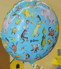 dr seuss balloons dr seuss foil balloon birthdayexpress