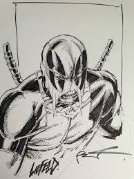 rob liefeld deadpool sketch rob liefeld funny pinterest