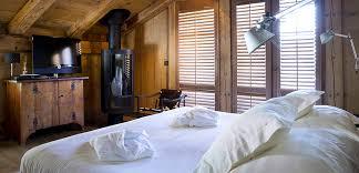 chambre à la ferme hôtel de luxe station de ski les carroz