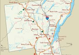 New York Area Code Map by Getting To The Lake George Area Lake George Ny Official Tourism