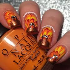 best 25 thanksgiving nails ideas on fall gel nails