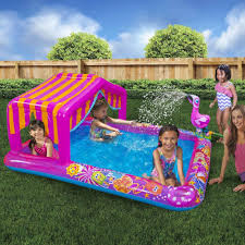 inflatable water play center kids swimming pool 74