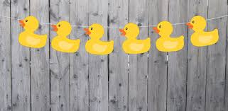 duck decorations rubber duck banner rubber duck garland rubber duck