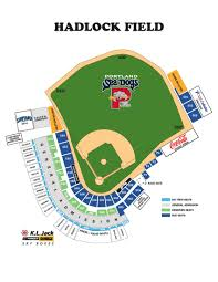 Royals Stadium Map Seating Chart U0026 Ticket Info Portland Sea Dogs Tickets