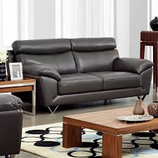 italian leather sofas contemporary lovable leather sofa contemporary luca home contemporary grey