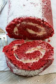 red velvet cake roll crazy for crust