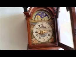 Ebay Cuckoo Clock Stunning Warmink Dutch 8 Day Burl Wood Friese Tailed Wall Clock