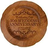 25th anniversary plates personalized personalized 25th wedding anniversary plate home