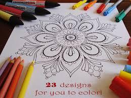 statussquo calm colour mandala patterns