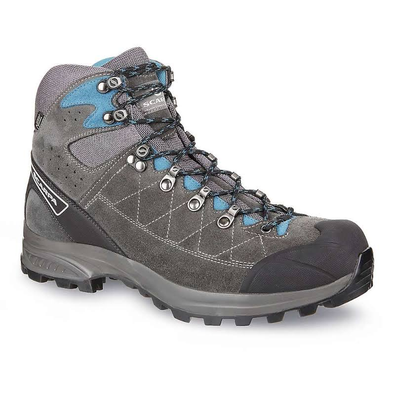 Scarpa Kailash Trek GTX Backpacking Boots Shark Grey/Lake Blue Medium 50 61056/200-SrkgryLkblu-50