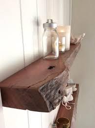 floating shelves australia set of 2 rustic live edge narrow