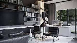 stylish home interior design 3d rendering interior design of a stylish home office archicgi