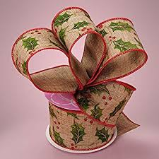 wide christmas ribbon premium wide christmas ribbon 2 1 2 inches