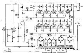 tube amp for home theater both tube otl amplifier 01 schematic valve amplifiers