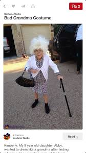 pin by blair prewitt on misc pinterest grandma costume