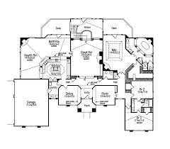 Luxury Mansion House Plan First Floor Floor Plans Ranch House Plan First Floor 007d 0002 House Plans And More
