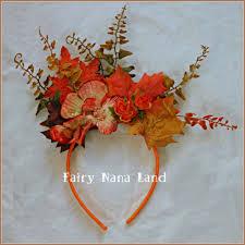 Fawn Fairy Halloween Costume Autumn Headband Fall Fairy Costume Accessory Fairynanaland