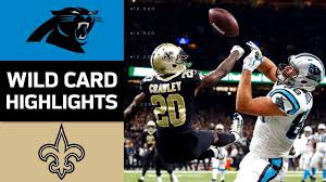 watch and download panthers vs saints nfl wild card game