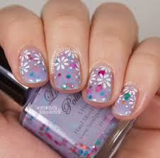 151 best floral nail art images on pinterest floral nail art